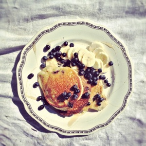 Blueberry pancakes, Gluten Free