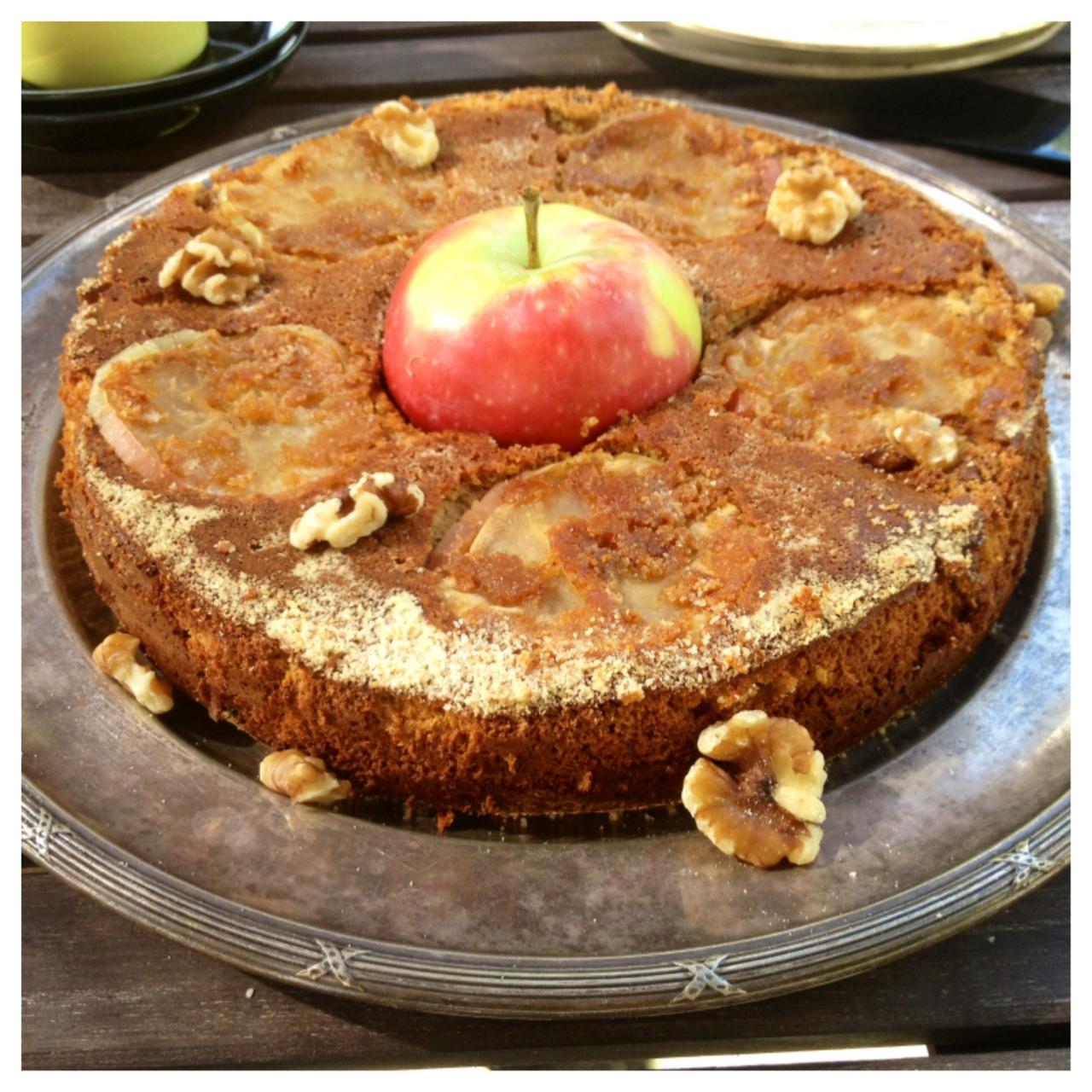 äppelkaka utan gluten