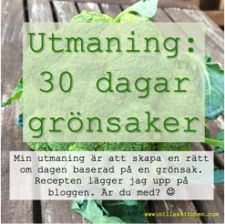 30 dagar grönsaker