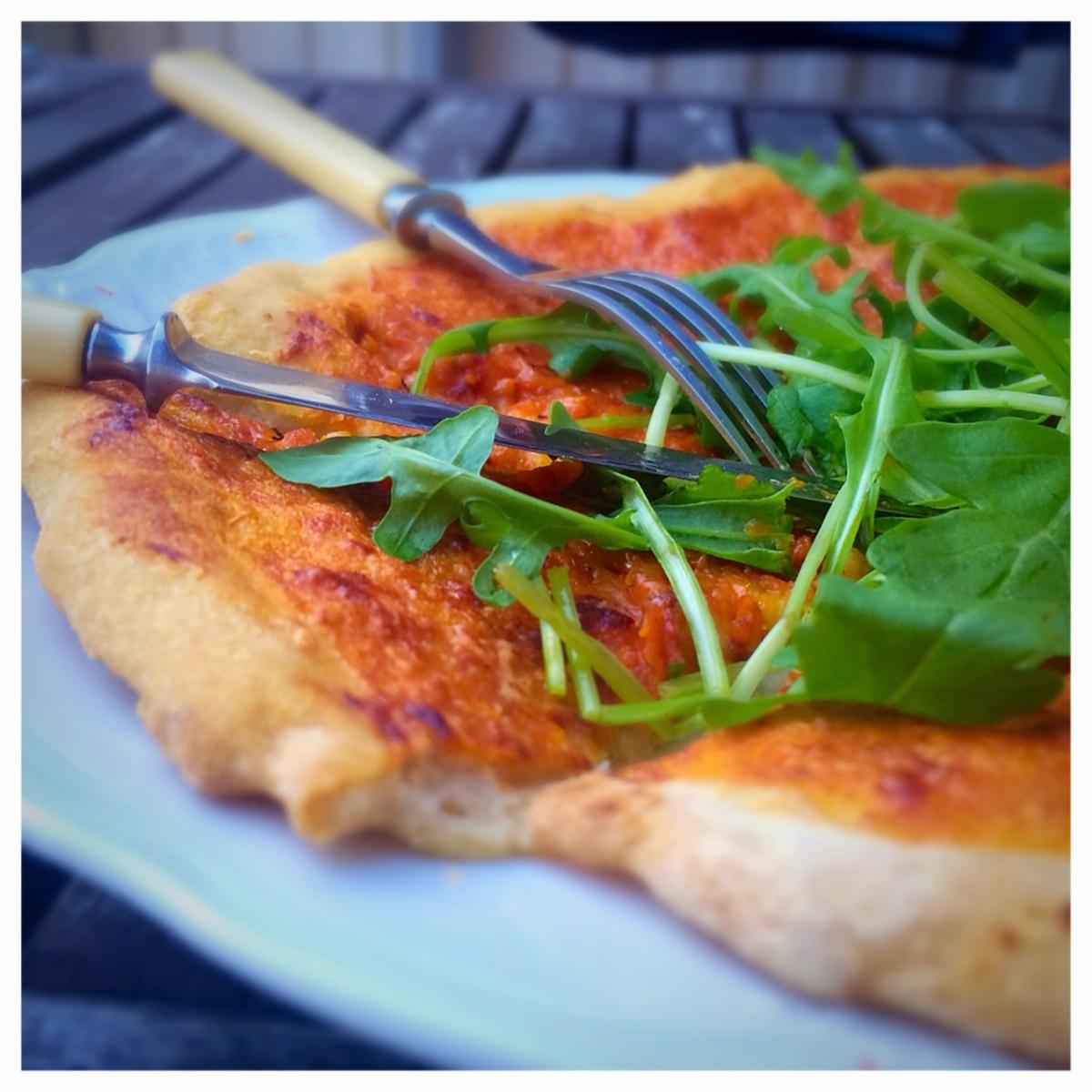 Naturligt glutenfri pizza! (fri från vetestärkelse)