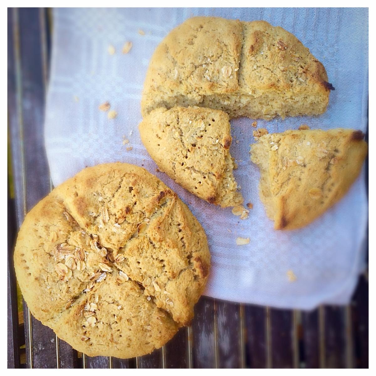 Havrescones - (glutenfritt, mjölkfritt)