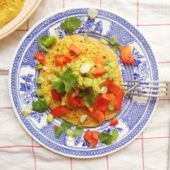 Kikärtspannkakor (vegan, äggfritt, glutenfritt)