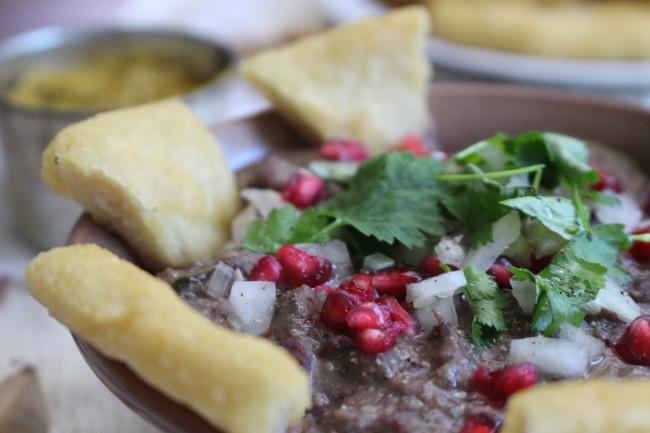 Lobio och mchadi recept
